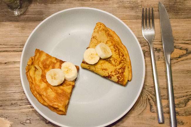 Banana Pancakes Recipe (High Carb)