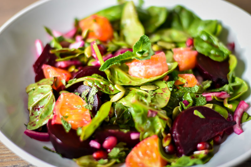 Beetroot & Orange Salad