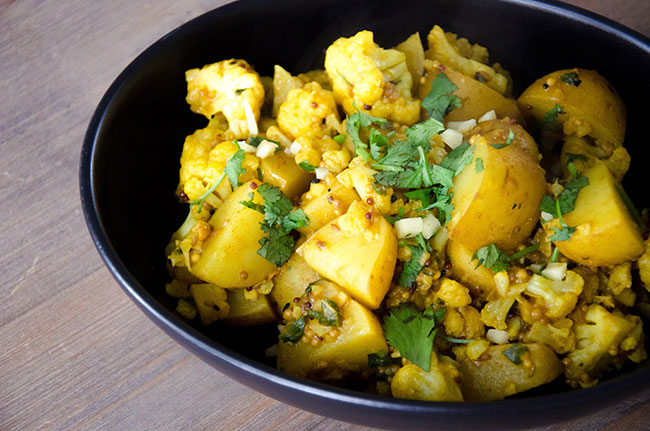 Bengali Potatoes & Cauliflower