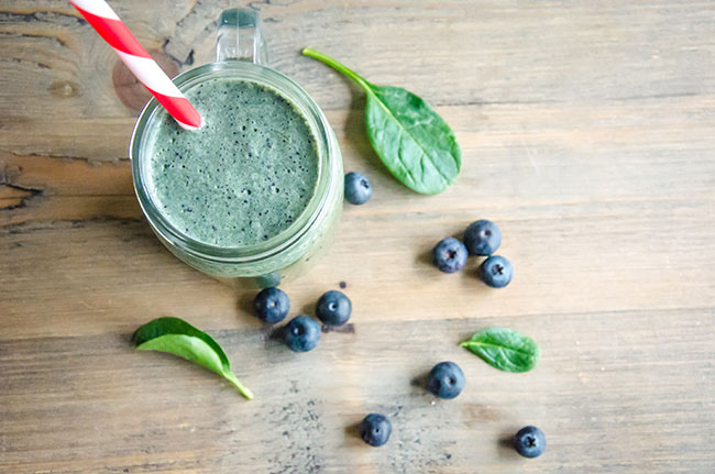 Blueberry & Spinach Smoothie