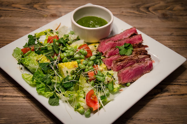 Steak Chimichurri Salad