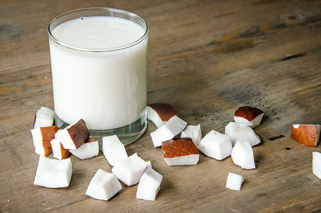 coconut milk recipe image