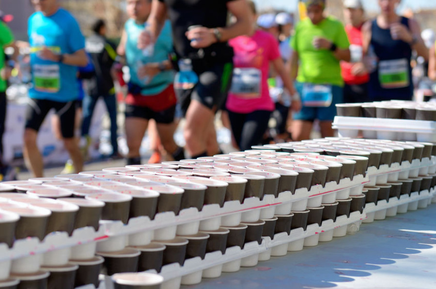 fuel during marathon image