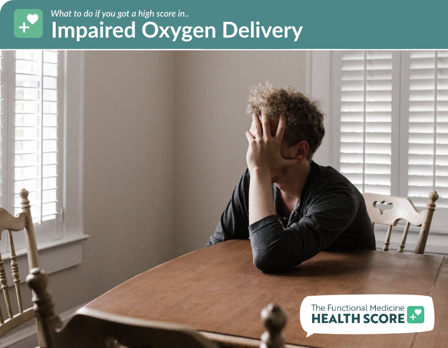 impaired oxygen delivery