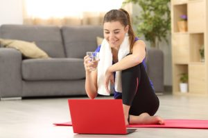 Online Exercise Class Schedule to help you through lockdown