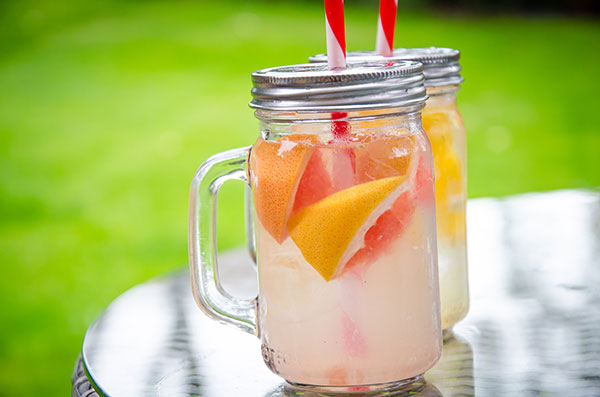 Pink Grapefruit Water