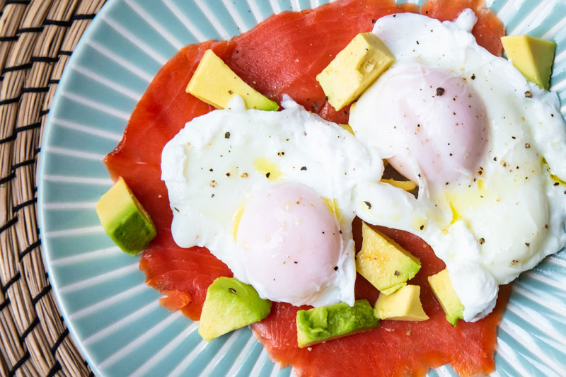 Salmon Avocado & Eggs