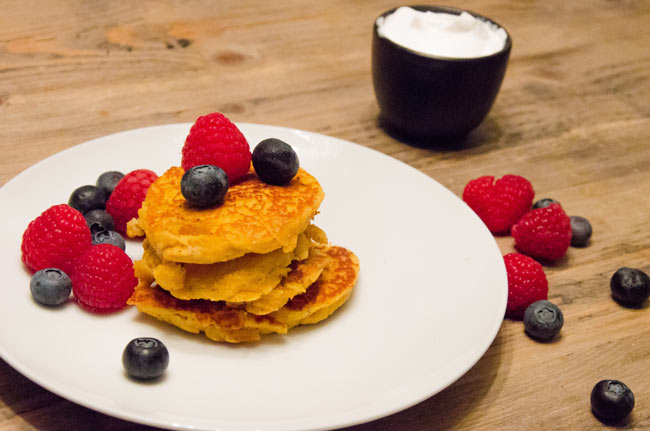 sweet potato pancakes recipe image
