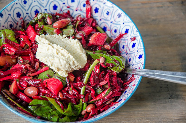 Beetroot Crunch Salad